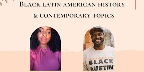 Otoño Negro: Black Latin American History & Contemporary Topics tickets