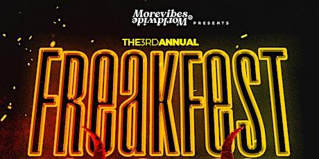 'FREAK FEST' | Bay Area's  #1 Halloween Costume Party!!! tickets