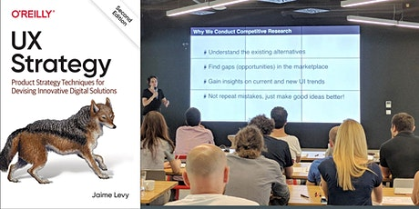 UX Strategy Workshop  in Copenhagen with the Author Jaime Levy on Nov. 17th tickets