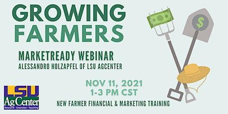 MarketReady Webinar - Growing Farmers tickets