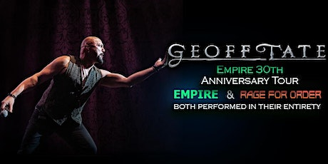 Geoff Tate - Empire 30th Anniversary Tour - @ The Boat! tickets