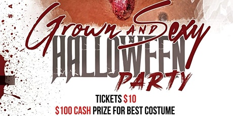 Grown & Sexy Halloween Costume Party tickets
