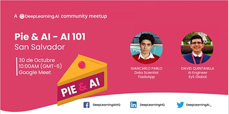 Pie & AI: San Salvador - Artificial Intelligence 101 tickets