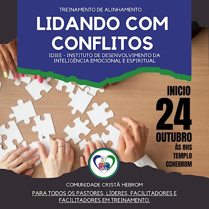 Imagem do evento CURSO: LIDANDO COM CONFLITOS   TREINAMENTO DE ALIN