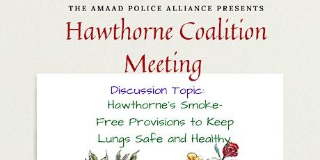 Hawthorne Coalition Meeting tickets