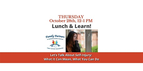 Lunch & Learn: Let's Talk About Self-Injury tickets