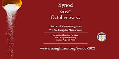 DWA Synod 2021 tickets