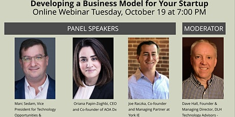 Developing a Business Model for Your Startup tickets