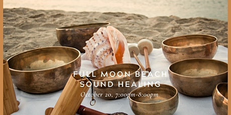 October Full Moon: A Sound Healing Experience on the Beach tickets