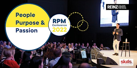 REINZ RPM Conference | People, Purpose & Passion | Thurs 10 February, 2022 tickets