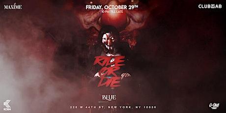 RIDE or DIE tickets