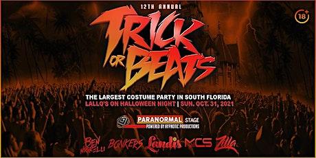 TRICK OR BEATS 2021 @ LALLOS | HALLOWEEN NIGHT tickets