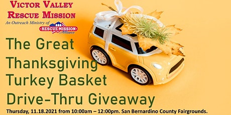 The Great Thanksgiving Basket Drive-Thru Giveaway tickets