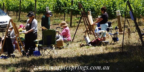 Art and Wine Sundays at Magpie Springs Vineyard tickets
