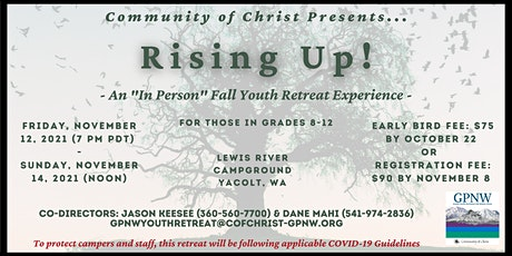 Fall Youth Retreat @ Lewis River 2021 tickets