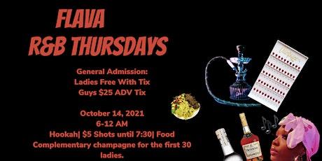 FLAVA R&B THURSDAYS tickets