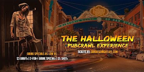San Diego Halloween Pub Crawl - Friday tickets