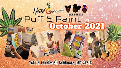October Puff & Paint tickets