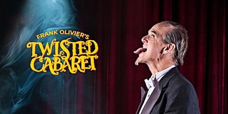 Frank Olivier's Twisted Cabaret: Halloween Tricks + Treats tickets