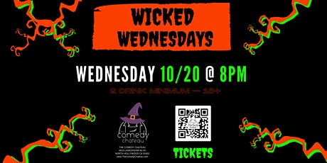 Comedy Chateau presents: Wicked Wednesdays (10/20) tickets