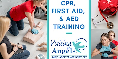 CPR/First Aid & AED Training tickets