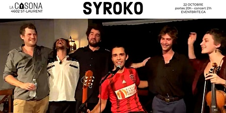 Syroko tickets
