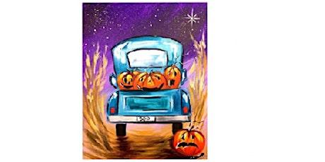 A Pumpkin Ride,  Paint Night tickets