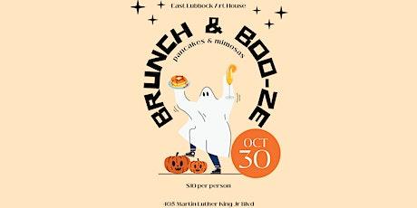 Brunch & Boo-ze tickets