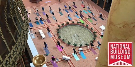 Yoga at the National Building Museum tickets