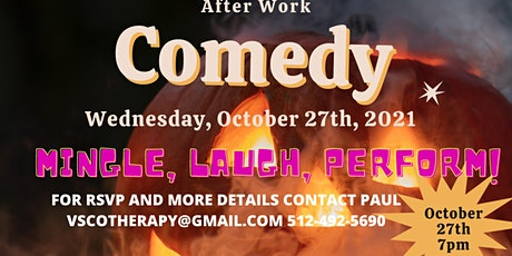 After Work Halloween Gathering and Comedy Hour tickets