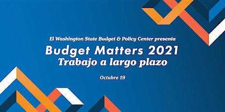 Budget Matters 2021: Trabajo a largo plazo entradas