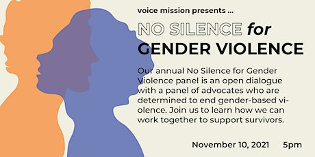 No Silence for Gender Violence tickets