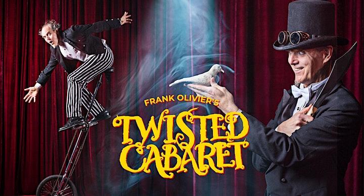 Frank Olivier's Twisted Cabaret: Halloween Tricks + Treats image