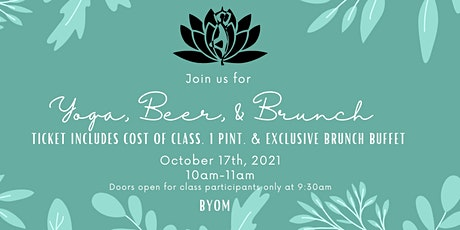 Yoga, Beer & Brunch at the River's Edge tickets