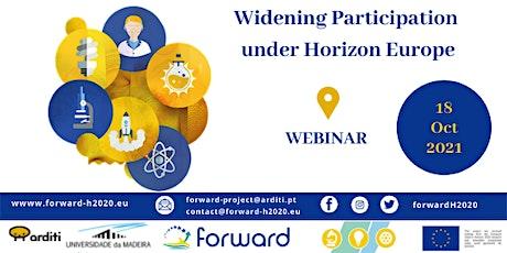 Widening Participation under Horizon Europe tickets
