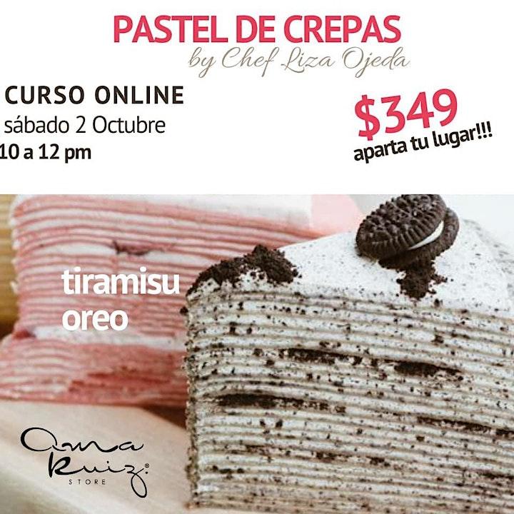 Imagen de Pastel de Crepas con Chef Liza Ojeda
