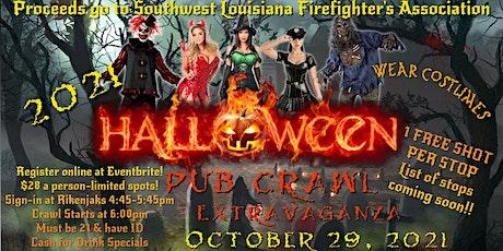 2021 Halloween Pub Crawl Extravaganza tickets
