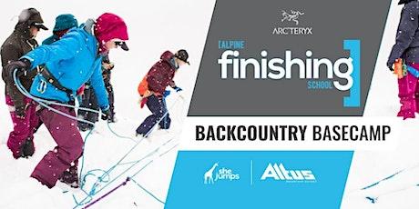 2022 SheJumps Alpine Finishing School: Backcountry Basecamp tickets