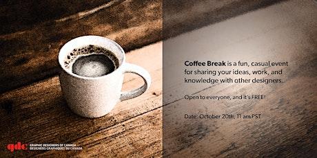 GDC Coffee Break - October Edition tickets