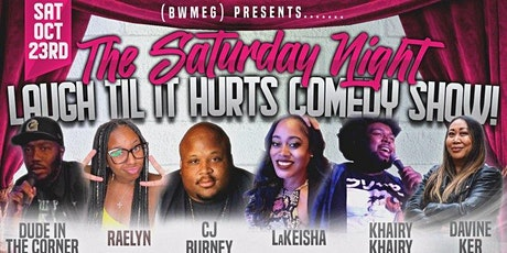 (BWMEG) presents Laugh Til It Hurts Fall Fever Comedy Show Island Pride tickets