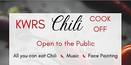 2nd Annual KWRS Cares Chili Cook-off! tickets