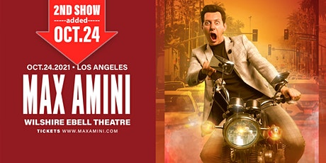 Max Amini Live in Los Angeles - October 24th tickets