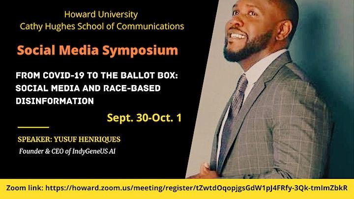 Social Media Symposium: Social media and race-based disinformation image