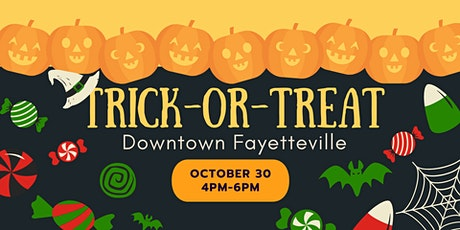 Trick-or-Treat Downtown Fayetteville 2021 tickets