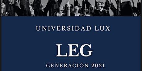 Graduación Lux tickets