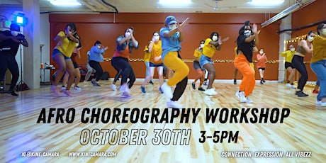 Afro Choreography Workshop tickets