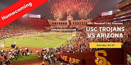 USC Marshall C4C Tailgate (10/30 ,12:30pm, USC Trojans v  Arizona Wildcats) tickets
