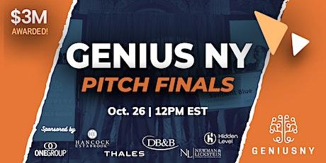 GENIUS NY Pitch Finals tickets