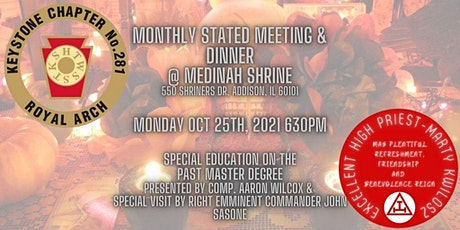 Stated Meeting, Dinner and Education tickets