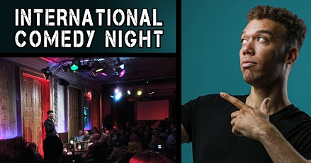 International English Comedy Night tickets